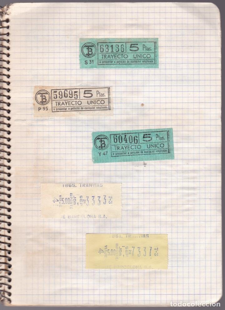 Coleccionismo Billetes de transporte: CAPICUAS - LIBRETA CON 186 BILLETES CAPICUAS DIFERENTES TRANSPORTES Y MÁS - FOTOS TODAS HOJAS - Foto 30 - 179380110