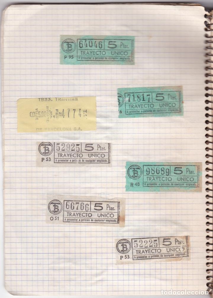 Coleccionismo Billetes de transporte: CAPICUAS - LIBRETA CON 186 BILLETES CAPICUAS DIFERENTES TRANSPORTES Y MÁS - FOTOS TODAS HOJAS - Foto 31 - 179380110