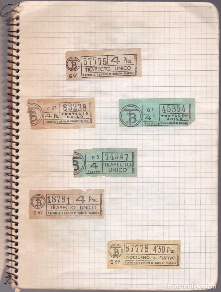Coleccionismo Billetes de transporte: CAPICUAS - LIBRETA CON 186 BILLETES CAPICUAS DIFERENTES TRANSPORTES Y MÁS - FOTOS TODAS HOJAS - Foto 33 - 179380110