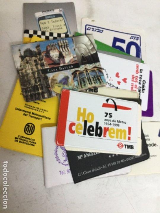 FUNDAS BILLETES TRANSPORTE - LOTE DE 18 DIFERENTES (Coleccionismo - Billetes de Transporte)