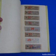 Coleccionismo Billetes de transporte: CANTIDAD DE BILLETES DE TRANVÍA DE BARCELONA Y AUTOBUSES.VER FOTOS.. Lote 185754003