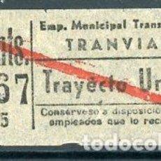 Coleccionismo Billetes de transporte: CIC 766 - BILLETE CAPICUA DE MADRID. Lote 186412312