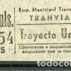 Coleccionismo Billetes de transporte: CIC 453 - BILLETE CAPICUA DE MADRID. Lote 186413737