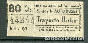 CIC 442 - BILLETE CAPICUA DE MADRID (Coleccionismo - Billetes de Transporte)