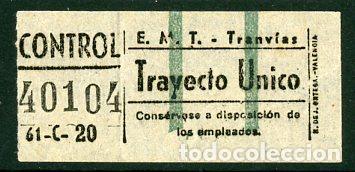 CIC 401 - BILLETE CAPICUA DE MADRID (Coleccionismo - Billetes de Transporte)