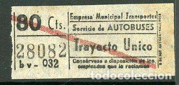 CIC 280 - BILLETE CAPICUA DE MADRID (Coleccionismo - Billetes de Transporte)