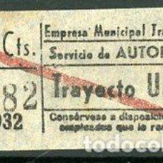 Coleccionismo Billetes de transporte: CIC 280 - BILLETE CAPICUA DE MADRID. Lote 186414081