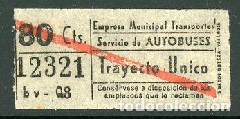 CIC 123 - BILLETE CAPICUA DE MADRID (Coleccionismo - Billetes de Transporte)