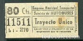 CIC 115 - BILLETE CAPICUA DE MADRID (Coleccionismo - Billetes de Transporte)