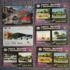 Coleccionismo Billetes de transporte: 8 TARJETAS DE TRANSPORTES. Lote 194187371