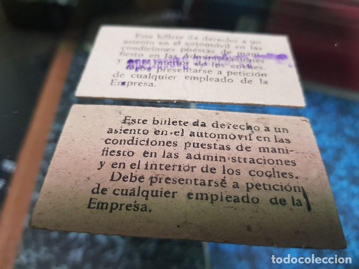 Coleccionismo Billetes de transporte: ANTIGUAS BILLETES AUTOBUS MURCIA ALMERIA AÑOS 50 - Foto 2 - 194316918
