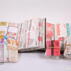 Coleccionismo Billetes de transporte: CONJUNTO DE 406 BILLETES/TARJETAS DE TRANSPORTE, METRO, BUS.. - TMB BARCELONA - AÑOS 90-2000 - #LRV. Lote 194693802