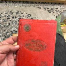 Coleccionismo Billetes de transporte: VIAJES MARSANS BARCELONA AÑO 1923 - CATÁLOGO DE VIAJES. Lote 194742847