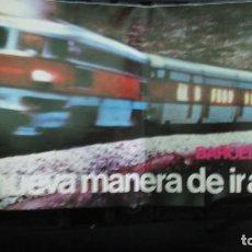 Coleccionismo Billetes de transporte: BARCELONA TALGO. ANTIGUO PROSPECTO AÑO 1975 . Lote 195040143