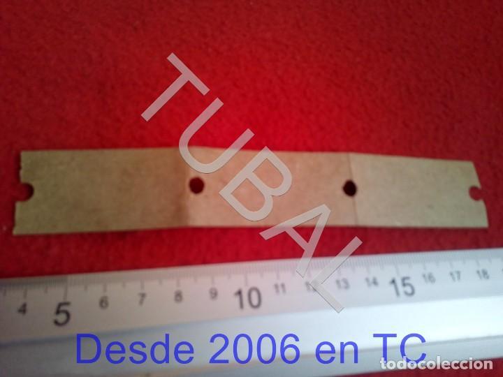 Coleccionismo Billetes de transporte: TUBAL ZARAGOZA TRANVIAS FERROCARRIL TREN BIAUSA B43 - Foto 2 - 195325751