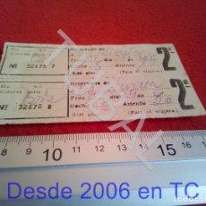 Coleccionismo Billetes de transporte: TUBAL ATOCHA RENFE TREN FERROCARRIL MADRID RESERVA B43. Lote 195326715