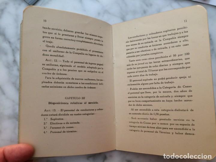 Coleccionismo Billetes de transporte: BARCELONA PRIMER REGLAMENTO DE LA C.G.A. DE BARCELONA RARO E INTERESANTE DOCUMENTO - Foto 4 - 196917088