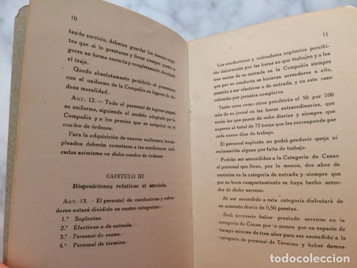 Coleccionismo Billetes de transporte: BARCELONA PRIMER REGLAMENTO DE LA C.G.A. DE BARCELONA RARO E INTERESANTE DOCUMENTO - Foto 5 - 196917088