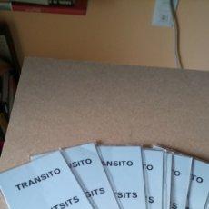 Coleccionismo Billetes de transporte: LOTE DE 10 TARJETAS DE EMBARQUE TRÁNSITOS DE IBERIA. AÑOS 80.. Lote 207677327