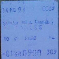 Coleccionismo Billetes de transporte: BILLETE TRANSPORTE DE IRLANDA. Lote 211440327