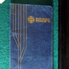 Coleccionismo Billetes de transporte: CARNET KILOMETRICO FAMILIA NUMEROSA RENFE CON SELLOS 1975 FERROCARRIL. Lote 213125682