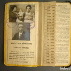 Coleccionismo Billetes de transporte: FERROCARRIL.BILLETE POR KILÓMETROS PRIMERA CLASE,3800 KM,SERIE D.1912. Lote 237556700