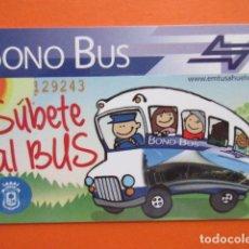 Collectionnisme Billets de transport: TARJETA PLASTICO EMPRESA EMTUSA HUELVA. Lote 217926407
