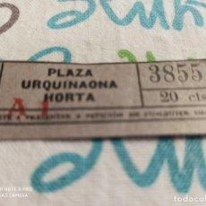 Coleccionismo Billetes de transporte: AQ7. TRANVÍA SAN ANDRÉS Y EXTENSIONES. 20 CTS. Lote 219735656