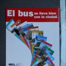 Coleccionismo Billetes de transporte: COLECCIÓN Y ALBÚM TARJETAS BONOBÚS ZARAGOZA AÑO 1998 - 12 TARJETAS COLECCIÓN COMPLETA. Lote 220569616