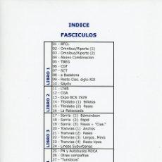 Colecionismos Bilhetes de Transporte: FASCICULO 25 - PN Y AUTOBUSES ROCA // ...................EN FORMATO PDF. Lote 252250750
