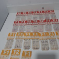 Coleccionismo Billetes de transporte: ANTIGUA TARJETAS DE TRANSPORTE MUNICIPAL DE BARCELONA. Lote 220795610
