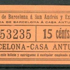 Coleccionismo Billetes de transporte: (F10/3) GSC 532 - BILLETE DE SAYEX // LINEA CASA ANTUNEZ //. Lote 221546881