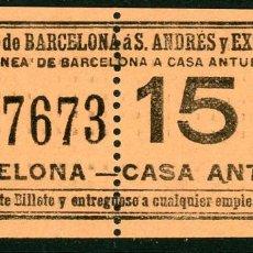 Coleccionismo Billetes de transporte: (F10/2) - GSC 376 - BILLETE DE SAYEX // LINEA CASA ANTUNEZ //. Lote 221549541