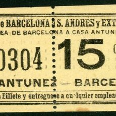 Coleccionismo Billetes de transporte: (F10/2) - GSC 403 - BILLETE DE SAYEX // LINEA CASA ANTUNEZ //. Lote 221549602