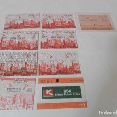 Coleccionismo Billetes de transporte: BILLETES RENFE LOTE DE 9 BILLETES. Lote 222646058