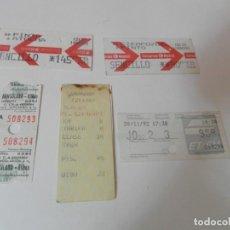 Coleccionismo Billetes de transporte: BILLETES DE TREN. Lote 222647221