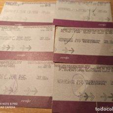 Coleccionismo Billetes de transporte: 6 BILLETES LÍNEA TARRAGONA. Lote 223138018
