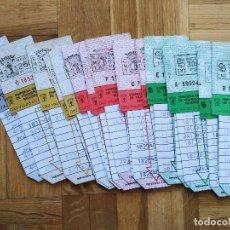 Coleccionismo Billetes de transporte: LOTE 20 BILLETES AUTOBUS. BUS. EMPRESA MUNICIPAL DE TRANSPORTES MADRID. TODOS DIFERENTES. VER FOTOS. Lote 226451400