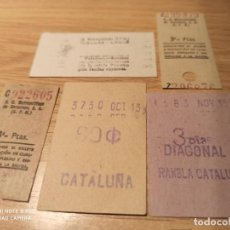 Coleccionismo Billetes de transporte: AV5. METRO BARCELONA. Lote 233607395