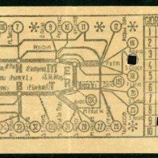 Collezionismo Biglietti di trasporto: BILLETE DE TRANVIAS DE ROMA (ITALIA ) // ATAG // 1930. Lote 236861965