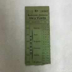 Coleccionismo Billetes de transporte: ANTIGUO BILLETE DE T.E.I.S.A.. Lote 243453785