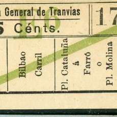 Collectionnisme Billets de transport: F06/7 BRUX - BILLETE DE CGT // GRANATE-40+. Lote 244545640