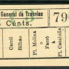 Collectionnisme Billets de transport: F06/7 BRUX - BILLETE DE CGT // GRANATE-40+. Lote 244545695
