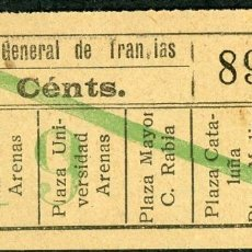 Collectionnisme Billets de transport: F06/7 ORTEGA DECH - BILLETE DE CGT // GRANATE-39+. Lote 244548055
