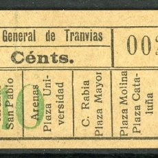 Collectionnisme Billets de transport: F06/7 ORTEGA DECH - BILLETE DE CGT // GRANATE-39+. Lote 244548085