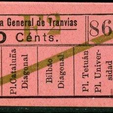 Coleccionismo Billetes de transporte: F06/7 BRUX - BILLETE DE CGT // GRANATE-40+. Lote 244609570