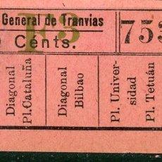 Coleccionismo Billetes de transporte: F06/7 BRUX - BILLETE DE CGT // GRANATE-40+. Lote 244609635