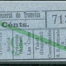 Coleccionismo Billetes de transporte: F06/7 ORTEGA DECH - BILLETE DE CGT // GRANATE-39+. Lote 244609710