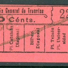 Coleccionismo Billetes de transporte: F06/7 IMP Y LIT - BILLETE DE CGT // GRANATE-39+. Lote 244609885
