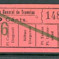 Coleccionismo Billetes de transporte: F06/7 IMP Y LIT - BILLETE DE CGT // GRANATE-39+. Lote 244609940